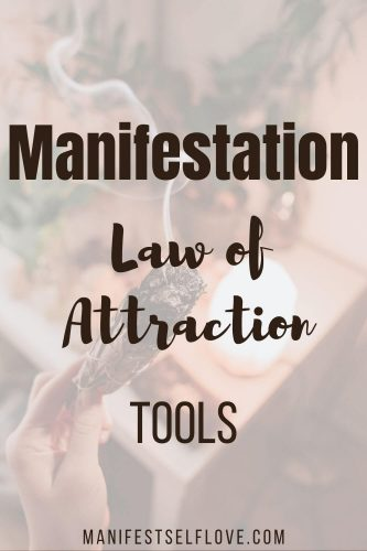 Manifestation law of attraction tools